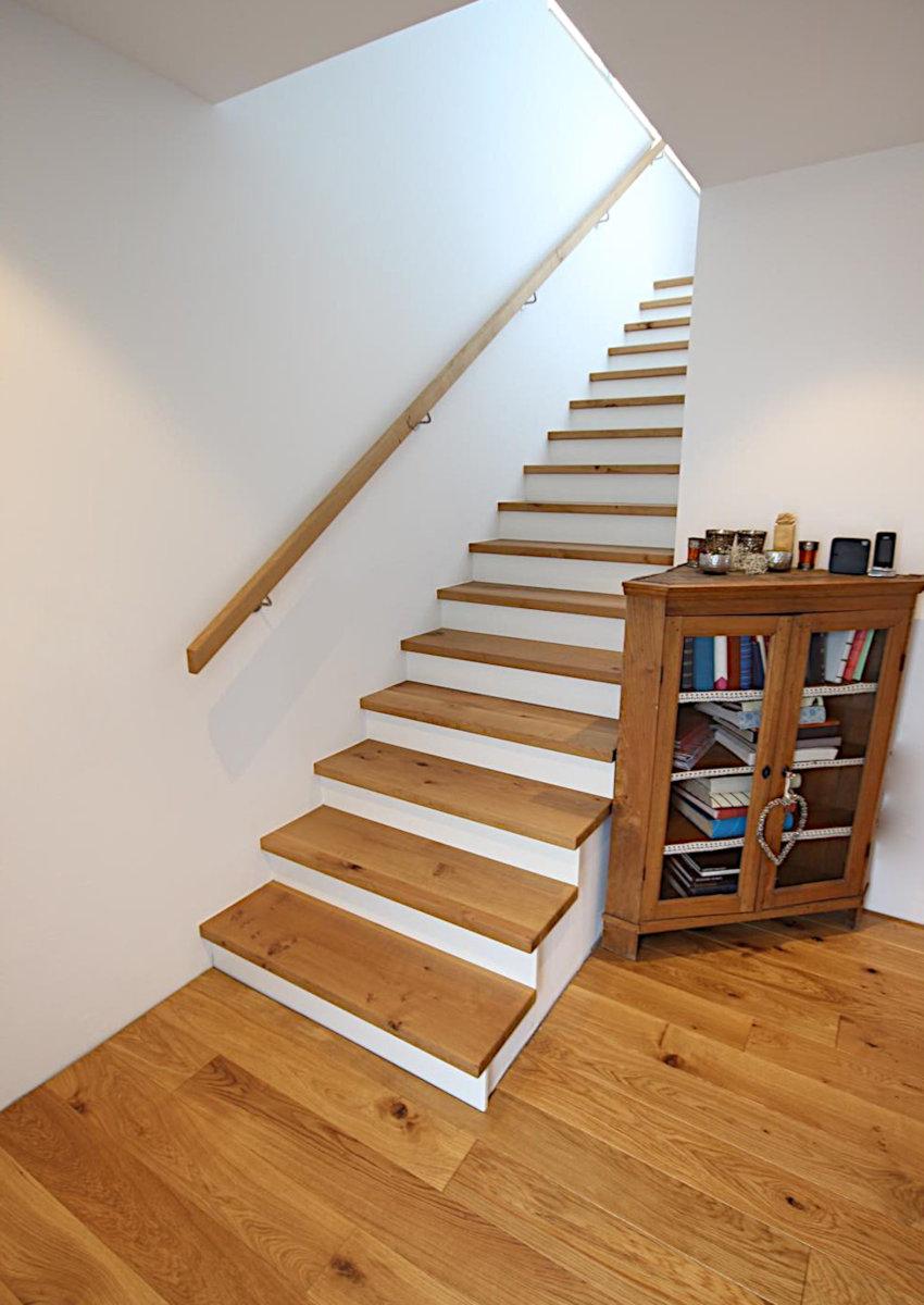 Treppe Betonkern Eiche Stufen Be Rheine 02