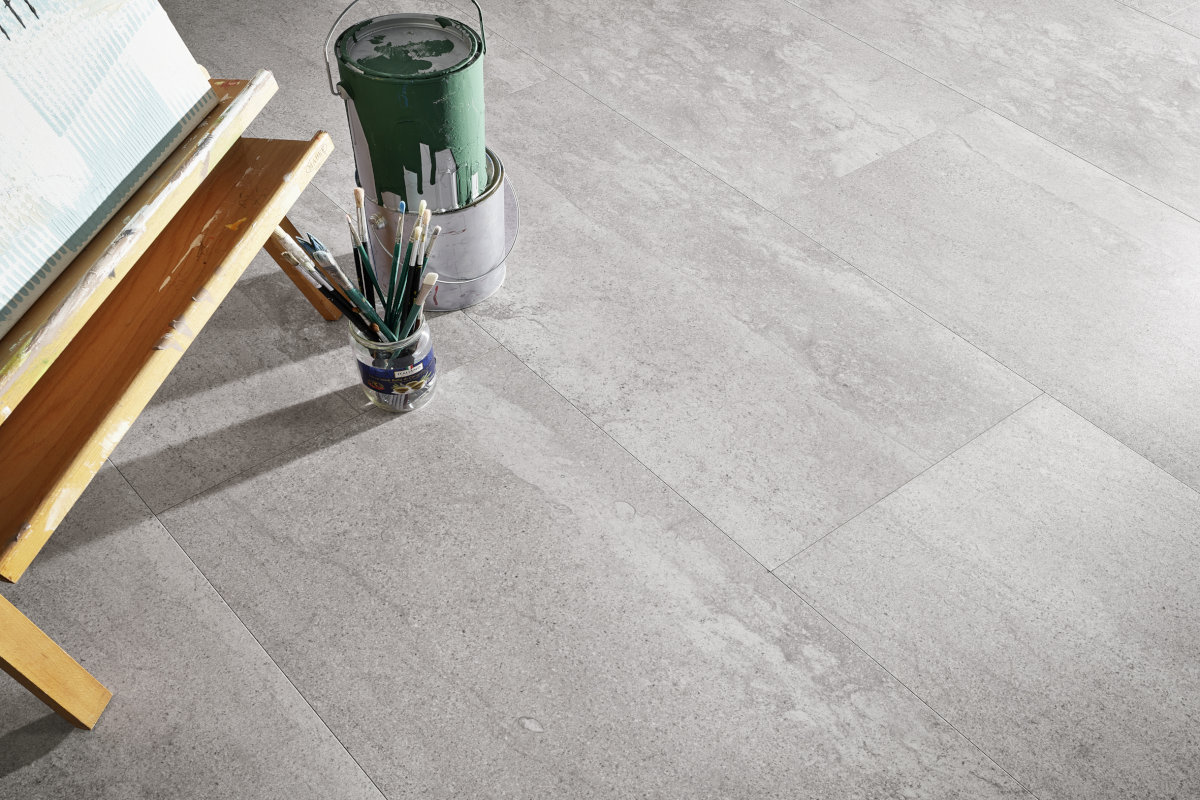 Mineraldesignboden Pola grey