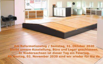 Der Reformationstag ist ein Feiertag in Niedersachsen